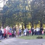 Įšventinimo ceremoniją stebėjo ir maži ir dideli